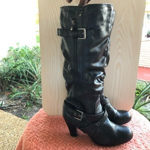 G by Guess High Boots Black Size 9
